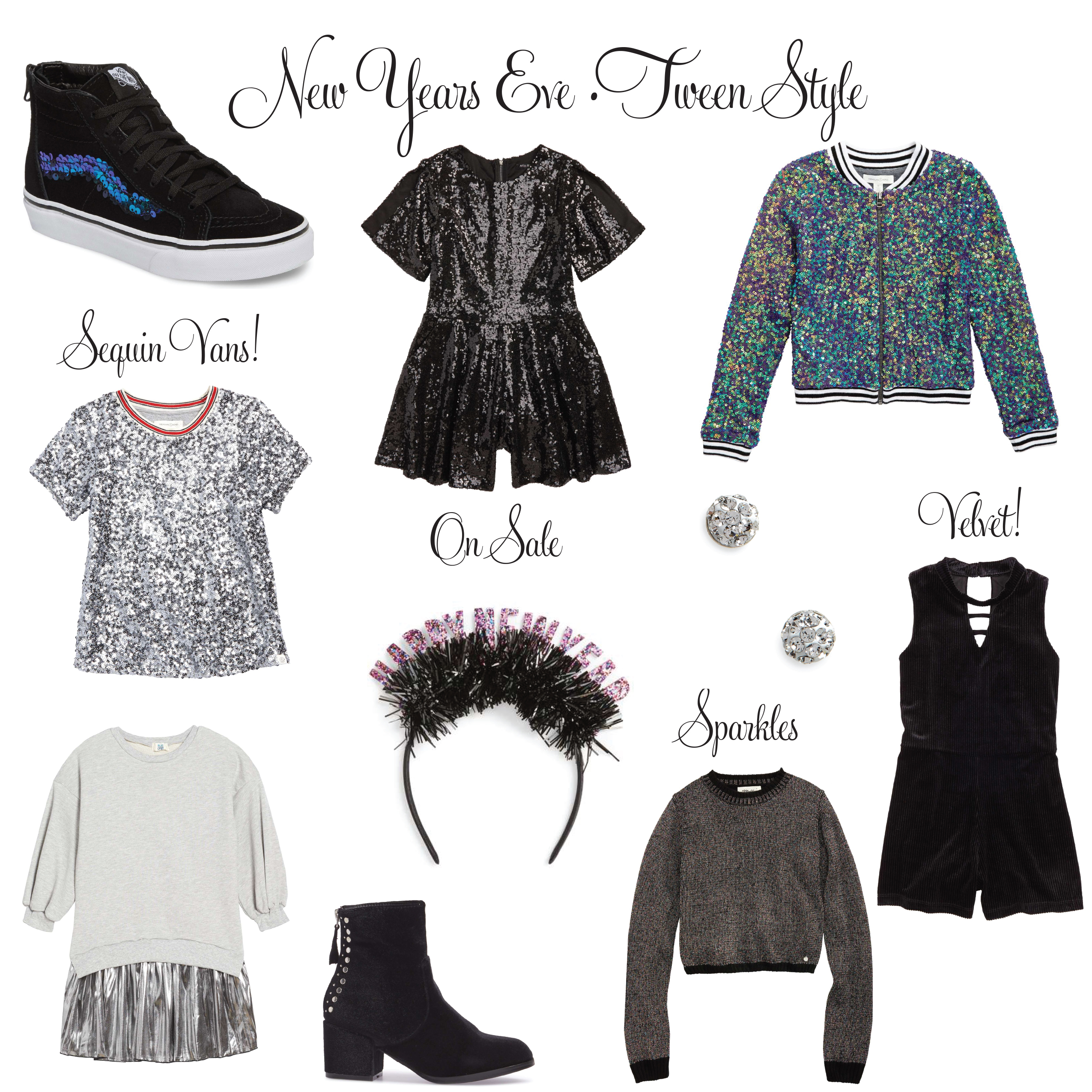 New Years Eve Tween Style Ideas!