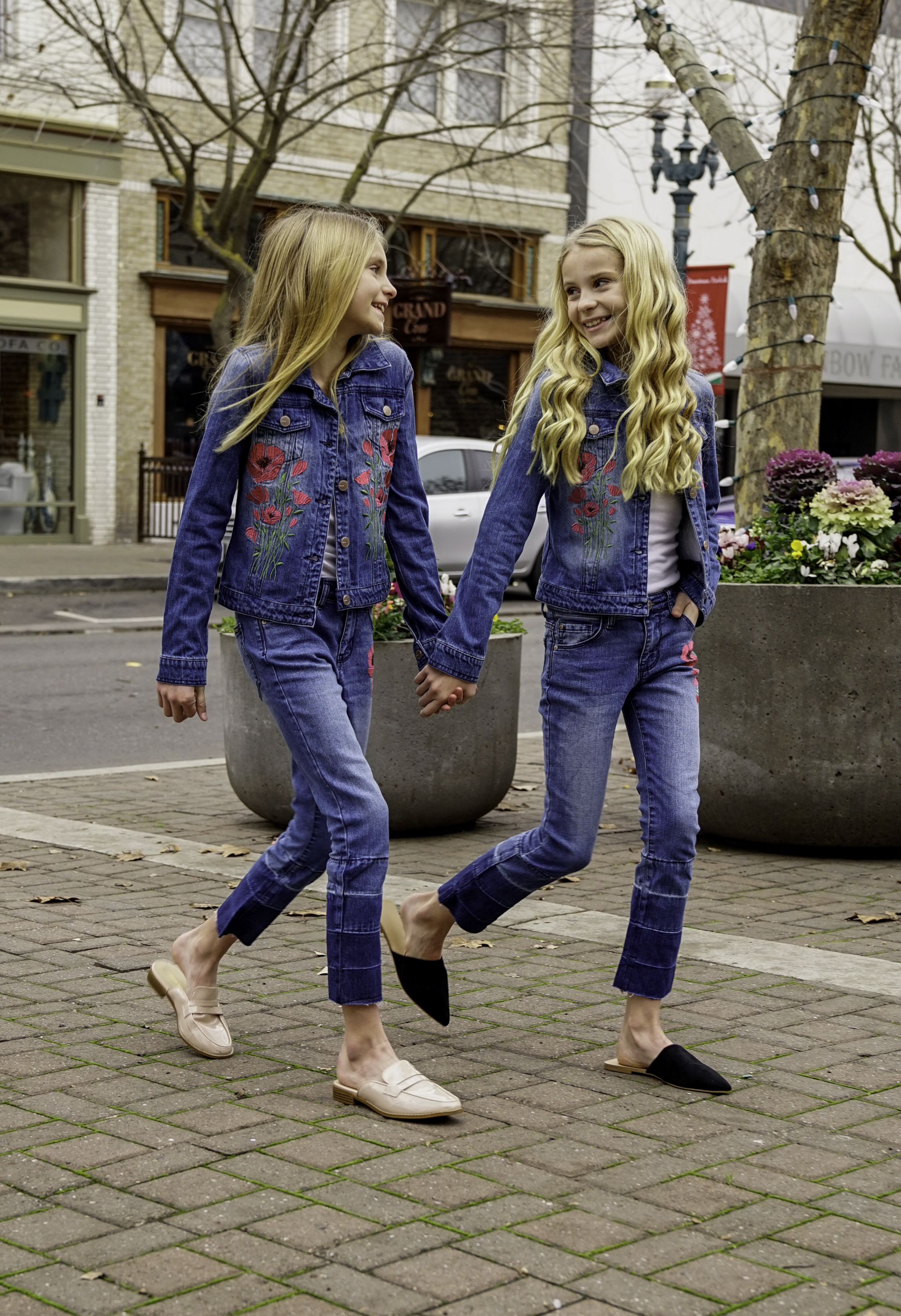 Denim on Denim with BEBE Girls